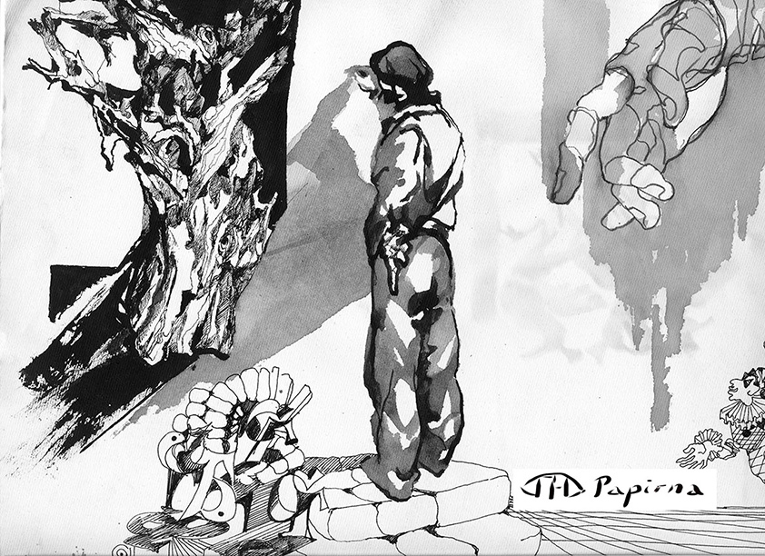 РИСУНОК | карандаш, бумага | 2013 | Наталья Папирна