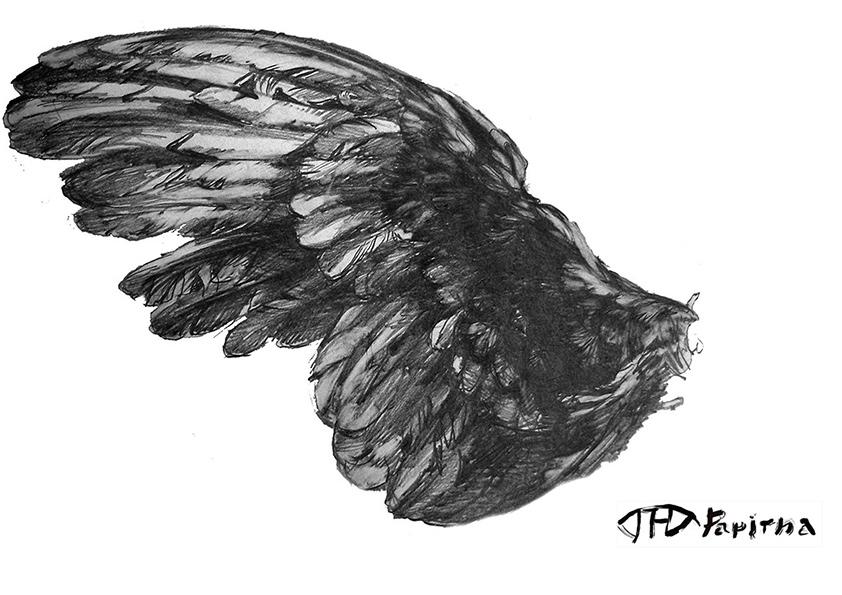 РИСУНОК | карандаш, бумага | 2014 | Наталья Папирна