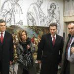 Премьер министр и министр культуры Македонии